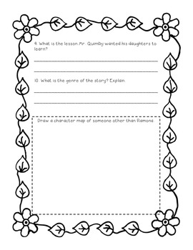 """3rd Grade Journeys """"The Extra Good Sunday"""" Study Guide"""