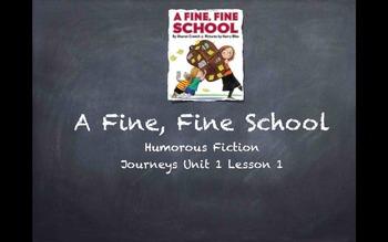 3rd Grade Journeys Unit 1 Lessons 1-5 PowersPoints
