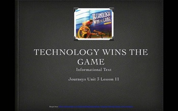 3rd Grade Journeys Unit 3 Lessons 11-15 PowerPoints