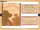 3rd Grade Journeys Unit 4 Lesson 19 Two Bear Cubs PowerPoint