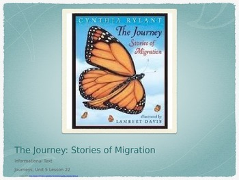 3rd Grade Journeys Unit 5 Lesson 22 PowerPoint