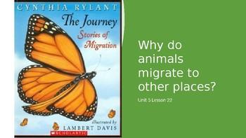 3rd Grade Journeys Unit 5 Lesson 22 The Journey Stories of Migration