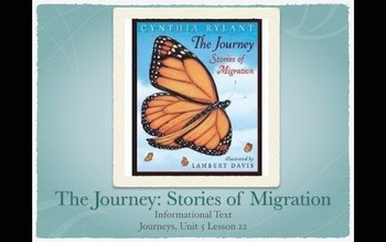 3rd Grade Journeys Unit 5 Lessons 21-25 PowerPoints