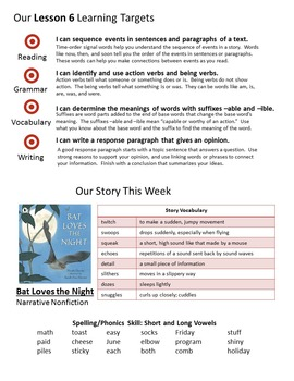 3rd Grade Journeys Units 1-5 Weekly Newsletters BUNDLE!