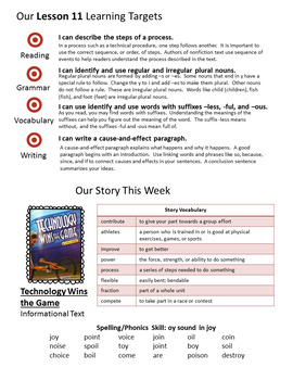 3rd Grade Journeys Units 1-5 Weekly Newsletters BUNDLE! (Editable)