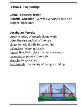 3rd Grade Journeys Vocabulary Lists Lessons 1-30