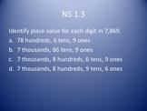 3rd Grade Key Math Standards Review