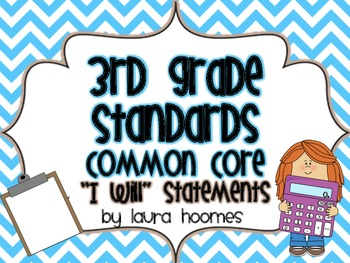 3rd Grade Kid Standards COMMON CORE 2