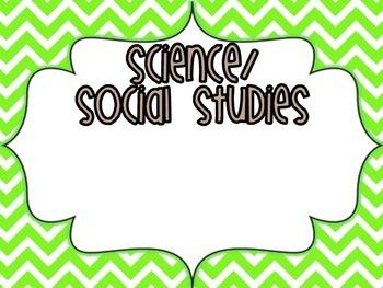 3rd Grade Kids Standards- FLORIDA Science/Social Studies