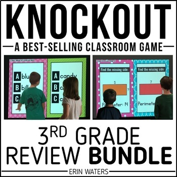 3rd Grade Knockout End of Year Review BUNDLE {Math & Language Arts}