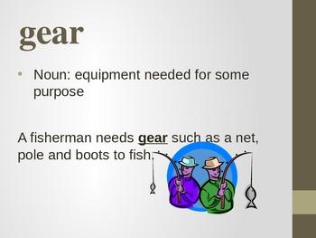 3rd Grade Reading Street Kumak's Fish Vocabulary Power Point