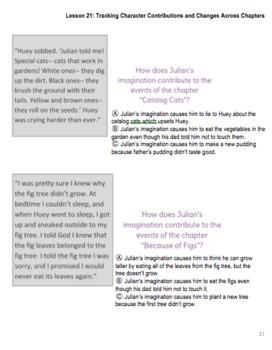3rd Grade LA Guidebooks Stories Julian Tells Lessons 17,18,20,21 Student Packet