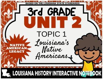 3rd Grade - LA History - Unit 2 - Topic 2 - Louisiana's Native Americans