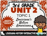 3rd Grade - LA History - Unit 2 - Topic 2 - Louisiana's Native Americans