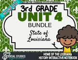 3rd Grade - LA History - Unit 4 Bundle without Unit Test
