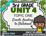 3rd Grade - LA History - Unit 4 - Topic 1 - Part A: Events Leading to Statehood
