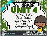3rd Grade - LA History - Unit 4 - Topic 2 - Part A: Louisi