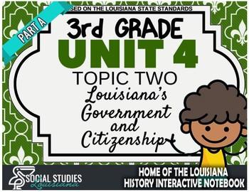 3rd Grade - LA History - Unit 4 - Topic 2 - Part A: Louisiana's Government
