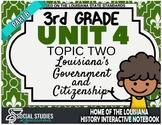 3rd Grade - LA History - Unit 4 - Topic 2 - Part B: Louisi
