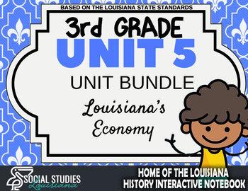 3rd Grade - LA History - Unit 5 Bundle