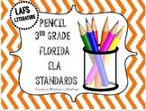 3rd Grade LAFS Florida Literature Standards - Color Pencil Theme