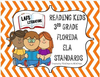 3rd Grade LAFS Florida Literature Standards - Kids Reading Theme