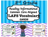 3rd Grade LAFS Reading Informational Vocabulary Cards