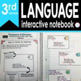 3rd Grade LANGUAGE Interactive Notebook {Common Core Aligned}