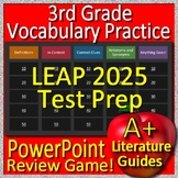 3rd Grade LEAP 2025 Test Prep English Language Arts Vocabulary Review Game