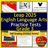 3rd Grade LEAP 2025 Test Prep -  Practice Tests - English Language Arts