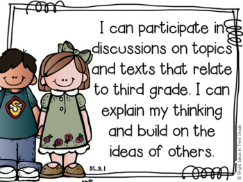 3rd Grade Language Arts Common Core Objectives {Melonheadz Edition}