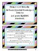 3rd Grade Language Arts I Can Statements (Texas Standards, TEKS)
