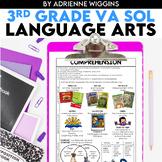 3rd Grade Language Arts STUDY GUIDES (VA SOL)