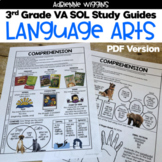 3rd Grade Language Arts VA SOL Study Guides