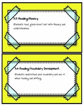 3rd Grade Language Arts TEKS