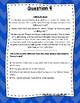 3rd Grade Language Arts Test Prep IREAD Task Cards Set 1