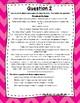 3rd Grade Language Arts Test Prep IREAD Task Cards Set 5
