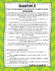 3rd Grade Language Arts Test Prep IREAD Task Cards Set 6