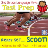 3rd Grade Language Arts Test Prep SCOOT aligned to AIR