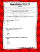 3rd Grade Language Arts Test Prep Set 4
