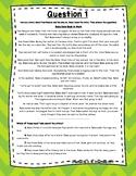3rd Grade Language Arts Test Prep Set 6