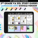 3rd Grade Language Arts VA SOL (Google Classroom) Study Guides - Distance Learn