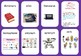 Language Arts Vocabulary (Matching game/Word to Definition SORT) SETS 1&2