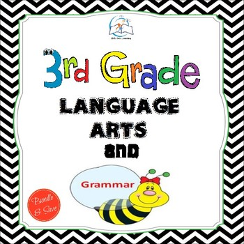 3rd Grade Language Arts and Grammar BUNDLE