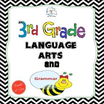 3rd Grade Language Arts and Grammar BUNDLE