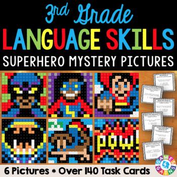 3rd Grade Language Centers: 3rd Grade Grammar Activities
