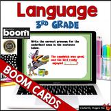 3rd Grade Language Digital Boom Cards