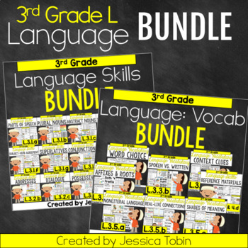 3rd Grade Language Domain Bundle