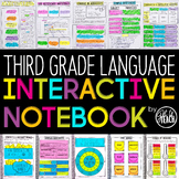 3rd Grade Language Interactive Notebook  Grammar Interactive Notebook
