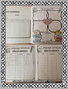 3rd Grade Language Interactive Notebook L.3.1